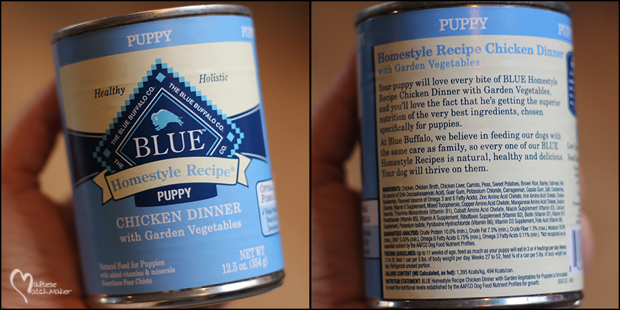 dog food canned blue buffalo